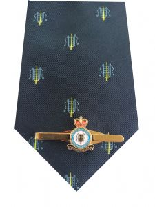 RAF Fighter Command Tie & Tie Clip Set p366 Royal Air Force